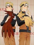 Evil Naruto x Naruto Uzumaki by Naruke24