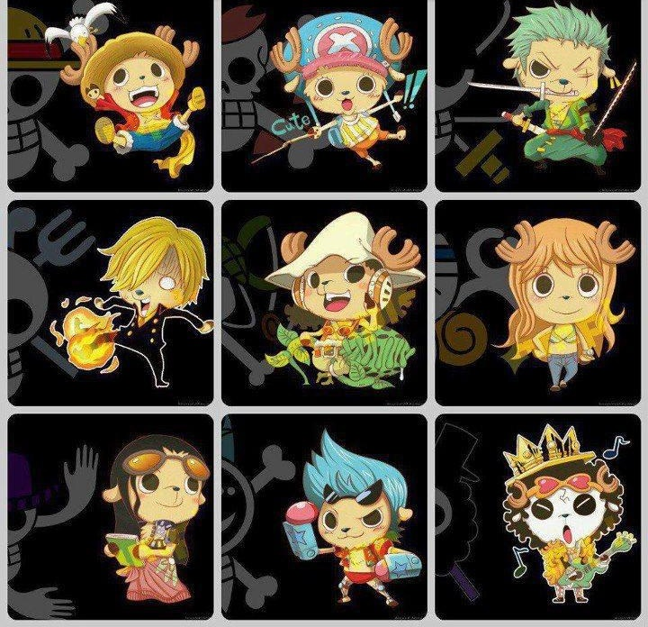 One Piece Strew Hat Crew Chopper Chibi By Naruke24 On Deviantart
