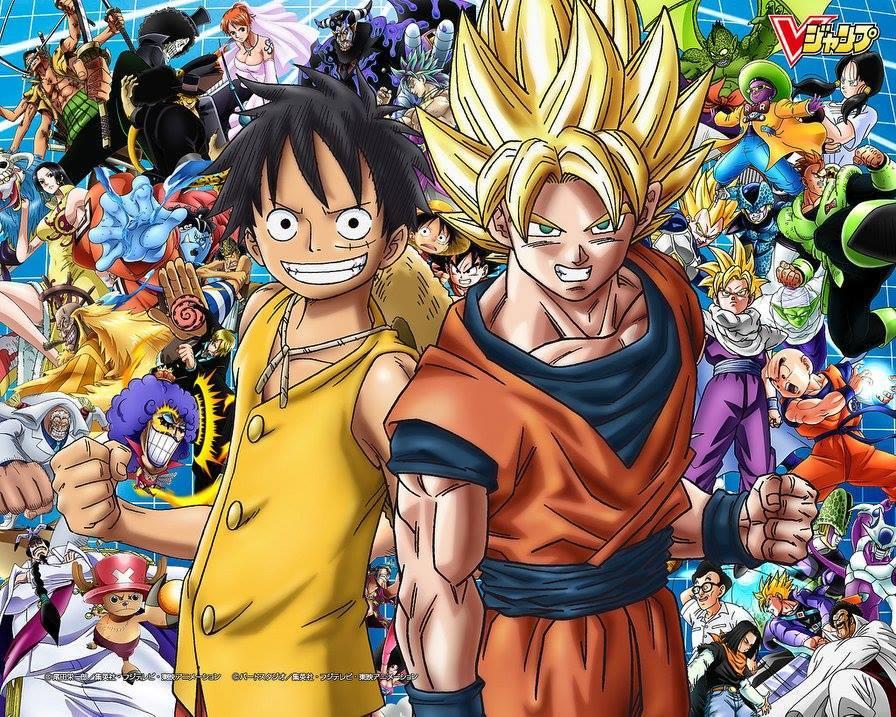 Vua Hải Tặc Ảnh và 7 viên Ngọc Rồng! Toriko!! {One Piece & Dragon Ball  Images}