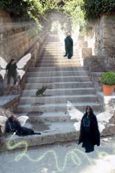 Stairway Fairies by LovelyAngelCutie