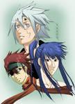 Allen, Kanda and Lavi