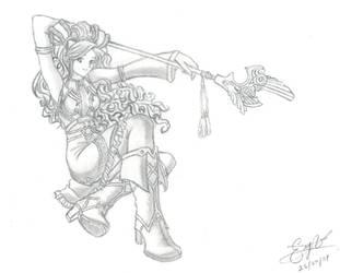 Priestess by sreavl