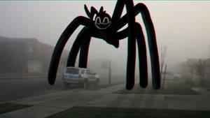 Cartoon Spider in the Neighborhood
