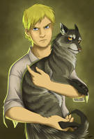 Jake and Oy by Cordania