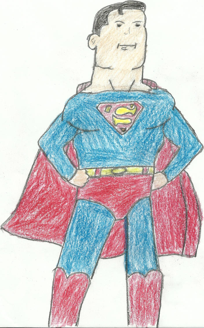 superman, by darkc3po