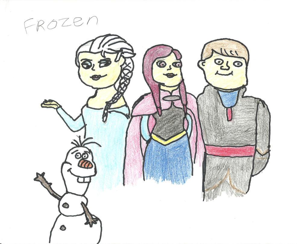 frozen by darkc3po