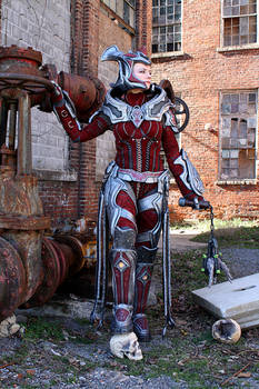 Queen Myrrah cosplay, completed build.