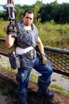 Adam Fenix, Gears of War cosplay