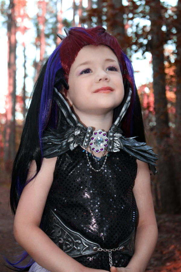 Raven queen everafter high cosplay by cimmerianwillow on deviantart