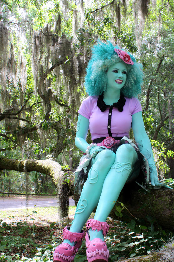 Honey Swamp, Monster High cosplay by cimmerianwillow