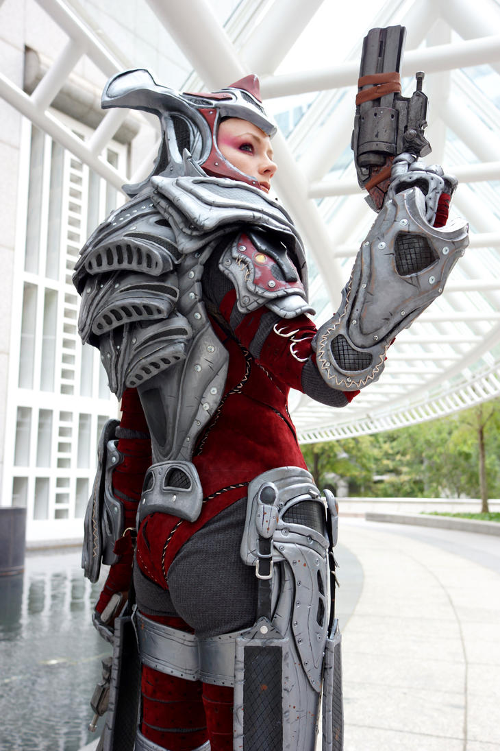 Gears of war locust cosplay