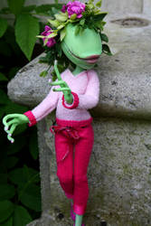 Monster High Plant girl custom by cimmerianwillow