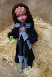 Klingon custom Star trek dolls. by cimmerianwillow
