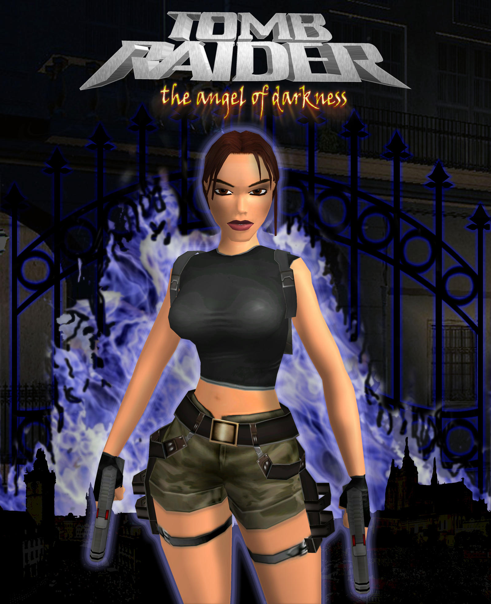 Tomb Rider Wallpaper: Tomb Raider Angel Of Darkness By Xara-TR On DeviantArt