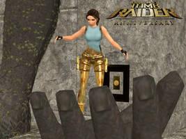 Tomb Raider Anniversary - Midas' Palace by Xara-TR