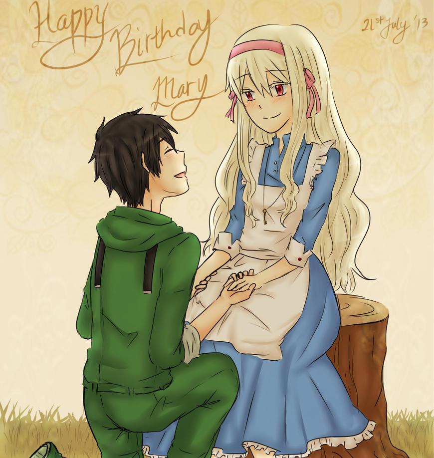 Mary-chan Birthday by KatarinaNoNeko