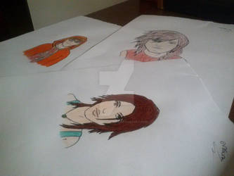 Just some basic draws by EvaSilvaLightning
