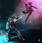 Lobo Vs Deadpool