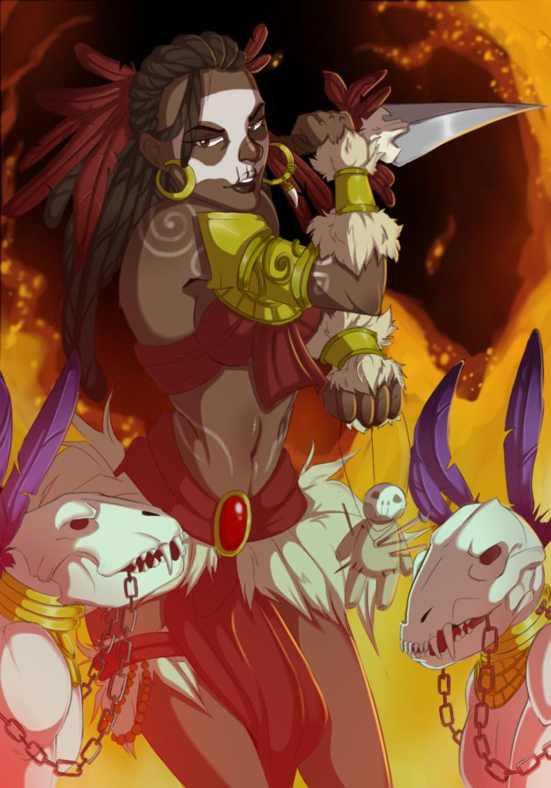 Diablo 3 Witch Doctor By Valdecreez On Deviantart