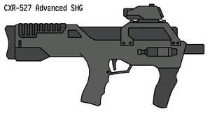 CXR-527 Submachine Gun