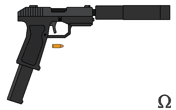 Automatic Pistol by omegafactor90