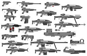 guns by omegafactor90