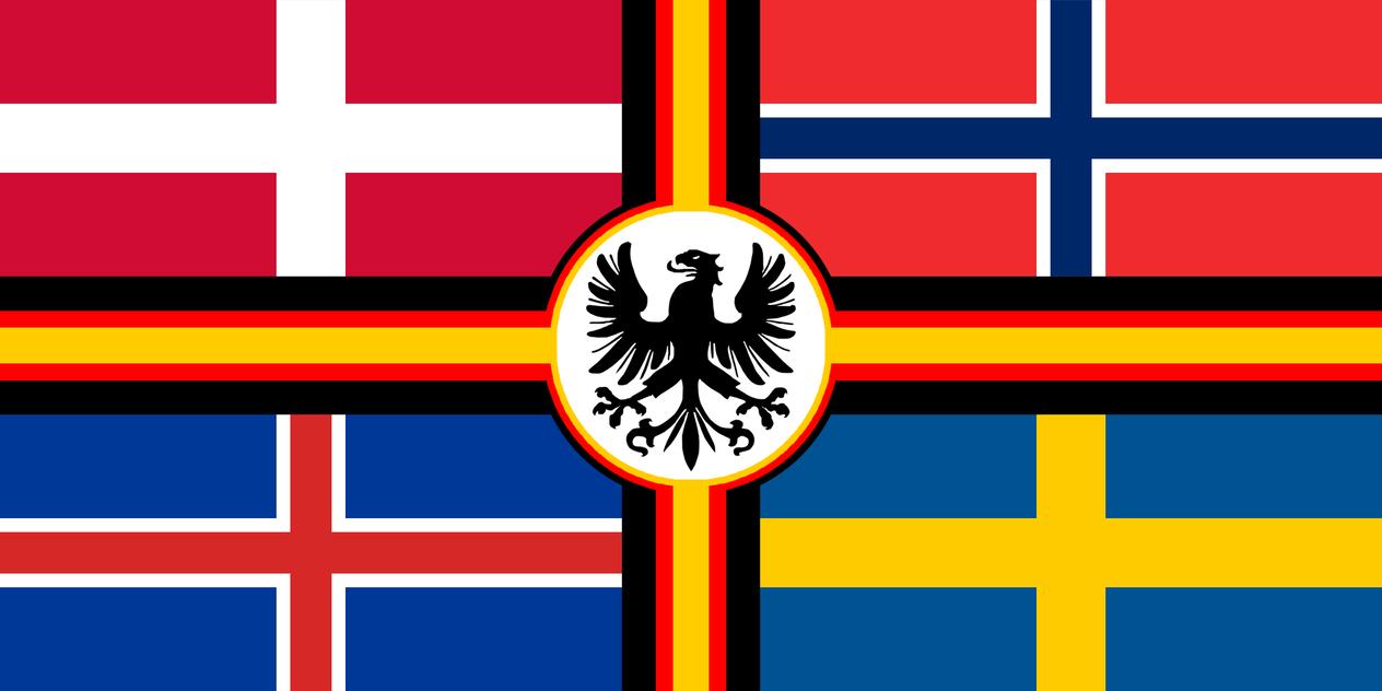 Germanic-Scandinavian Union by Kristo1594