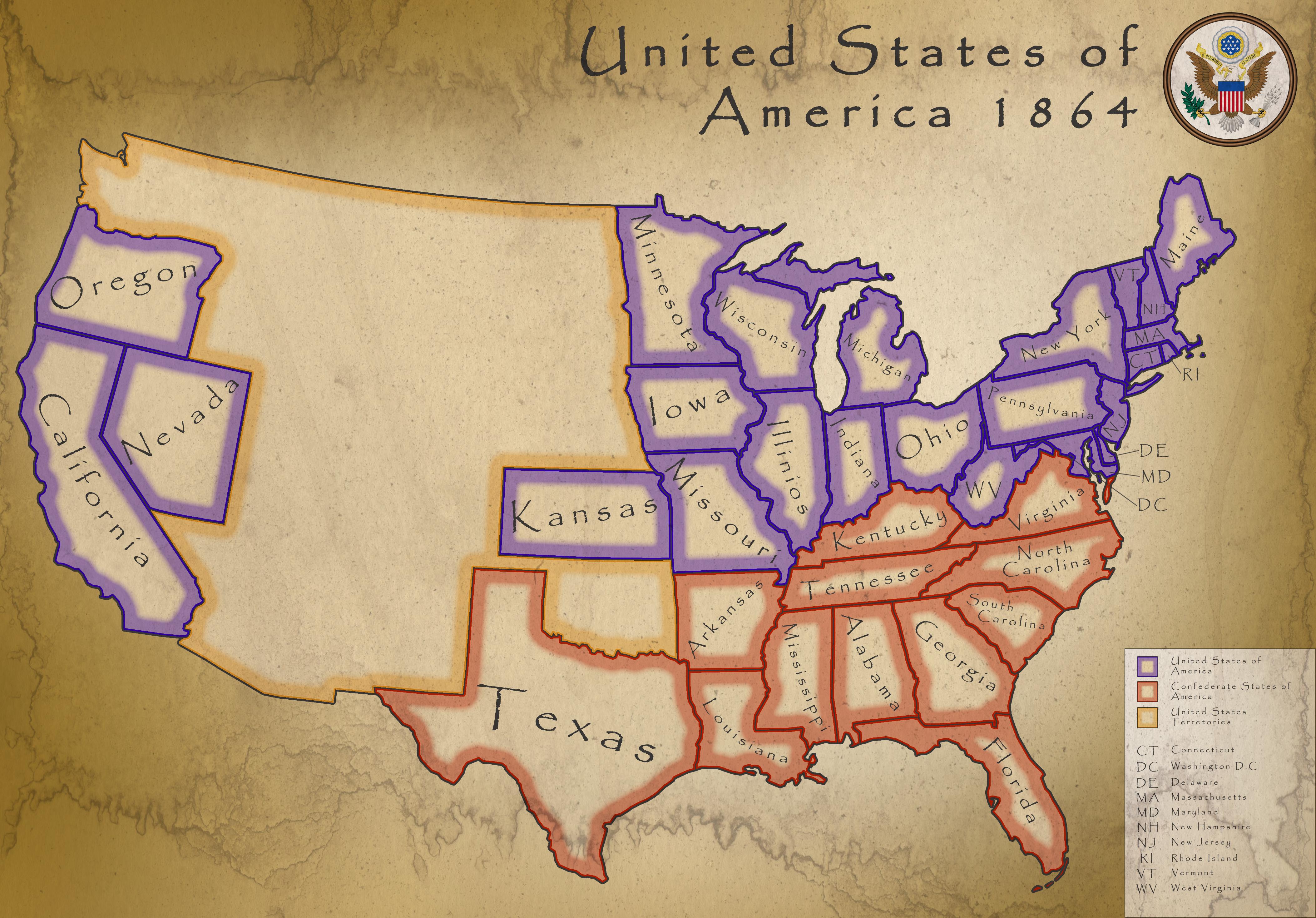 USA 1864 by Kristo1594 USA 1864 by