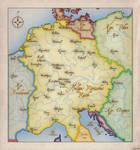Heiliges Roemisches Reich um 1200