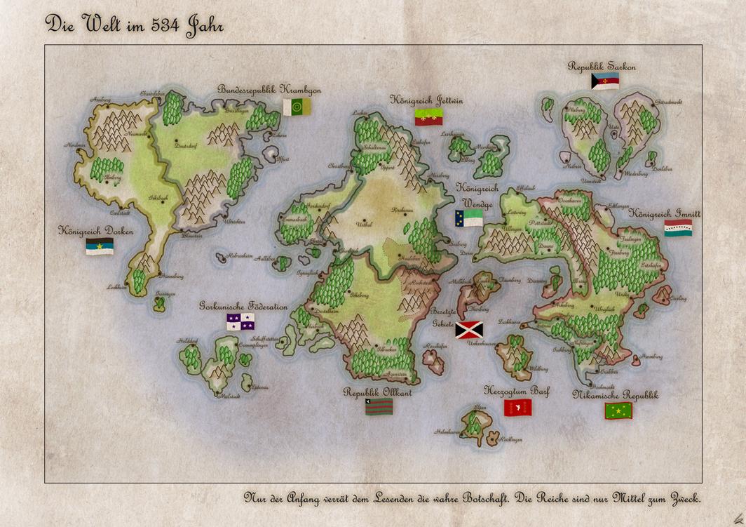Fantasy World by Kristo1594