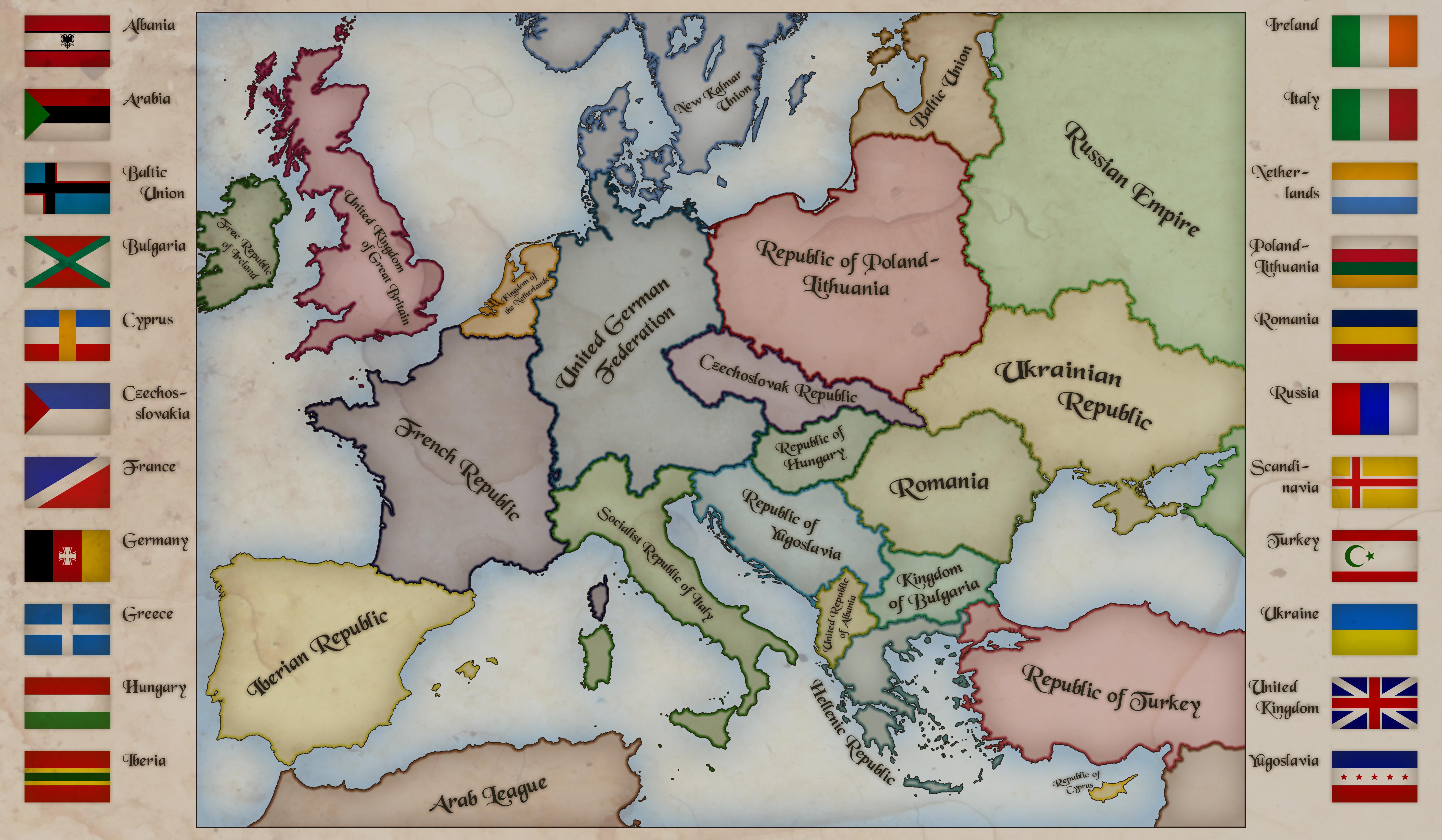 Alternate Europe by Kristo1594