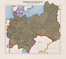 Bezirke Deutschlands 1956 by Kristo1594