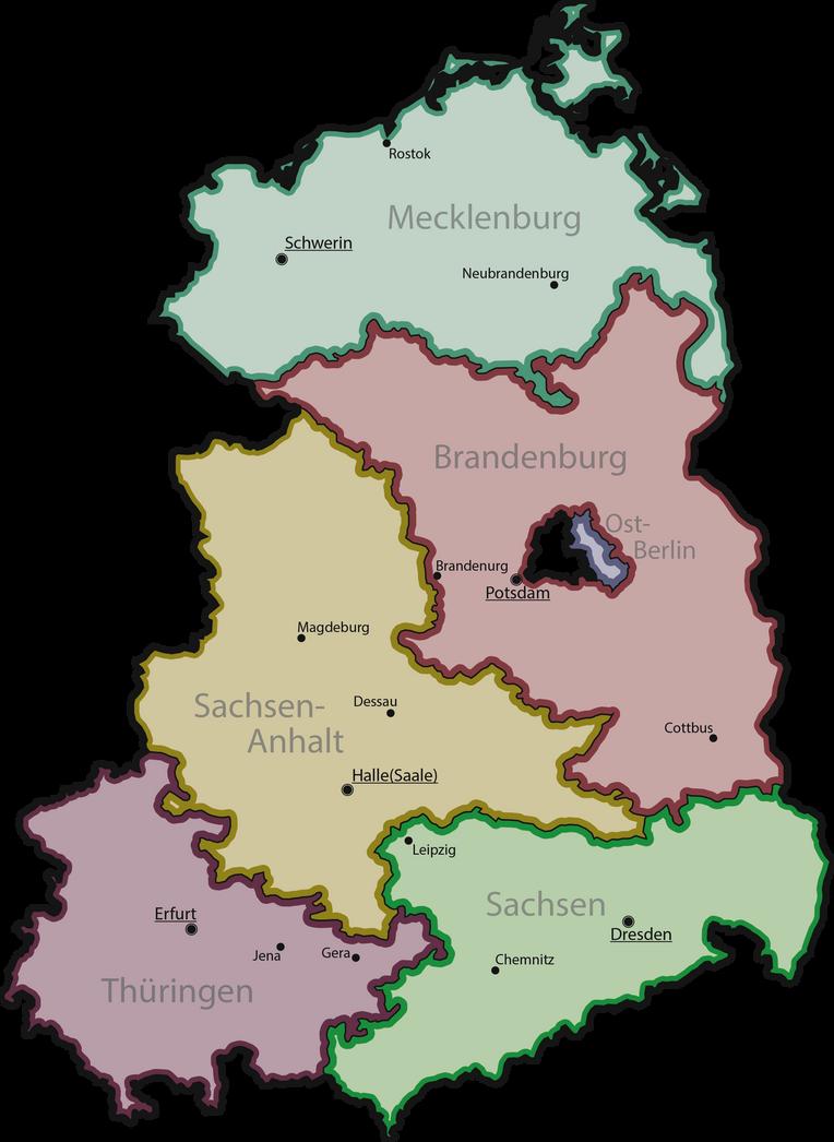 GDR 1947-1952 by Kristo1594