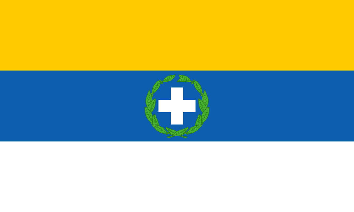 Greek guerilla flag 1821-1829 by Kristo1594