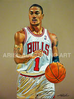 Derrick Rose by relaurellano