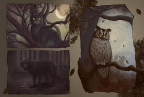 In visions of the dark night by ViaEstelar
