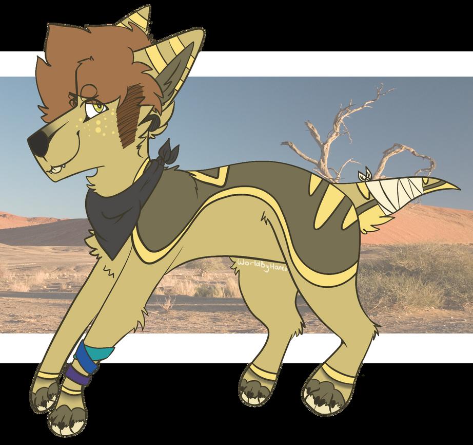 Desert Dog [CLOSED] by fl0werprince