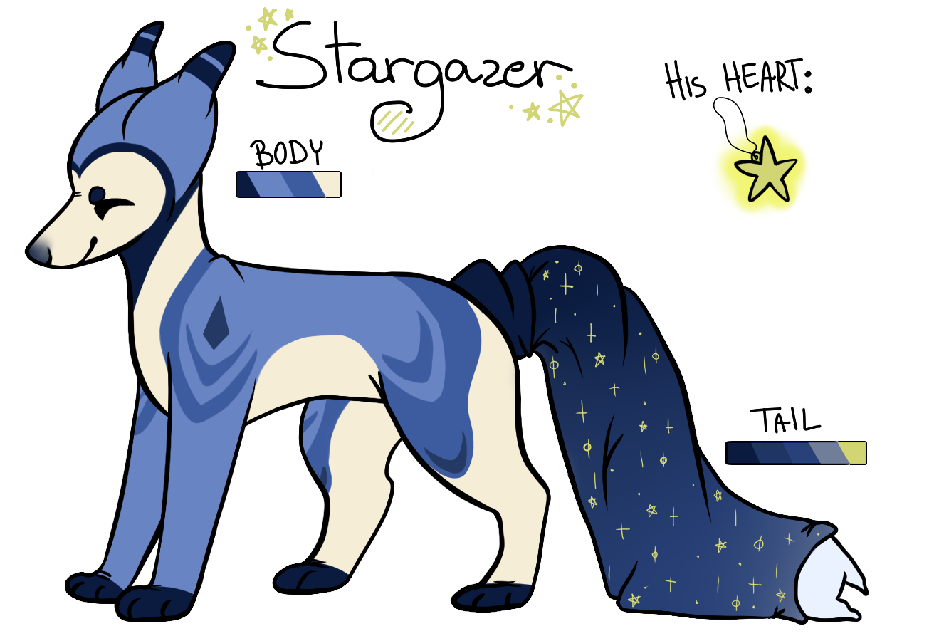 [MYO Pillowing] Stargazer by fl0werprince