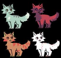 Random Adopts (4/4 OPEN) by ShayTheSleepyKing