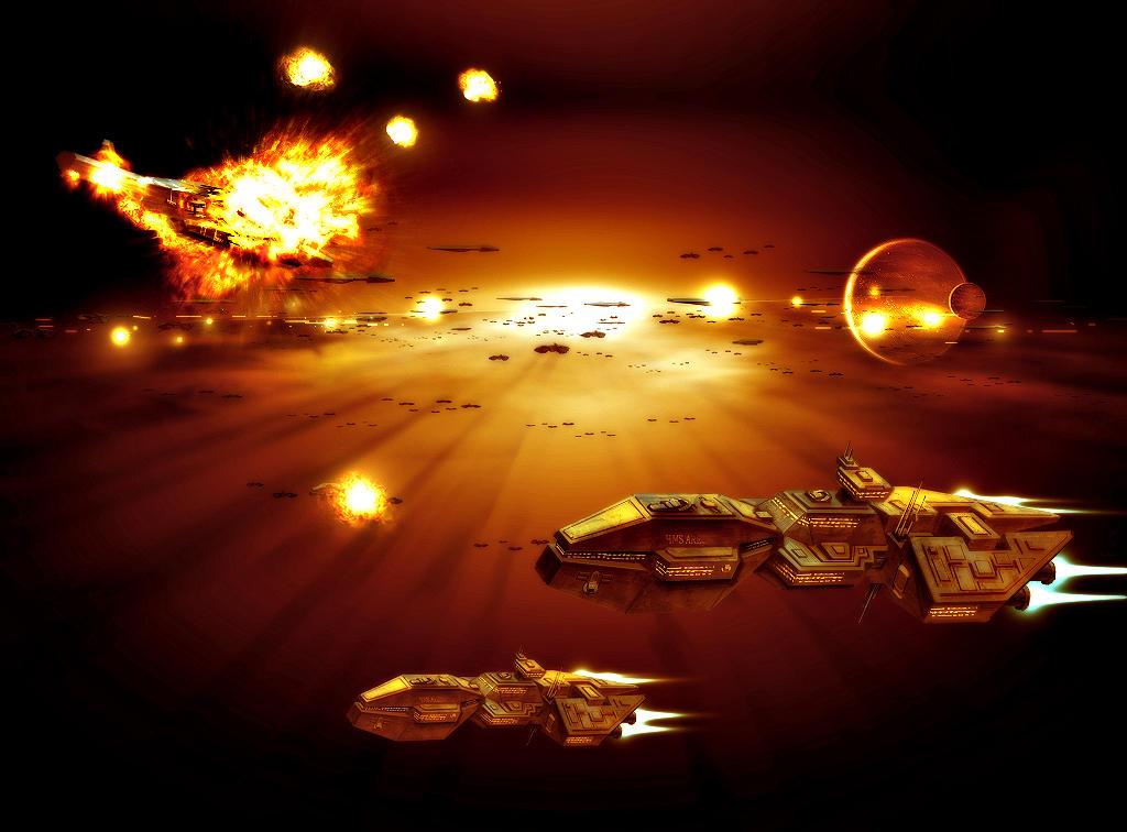 Event IX : La deuxième session est lancée ! Space_battle____not_so_wip__by_theregisteredone