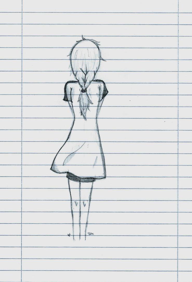 back anime girl - photo #44