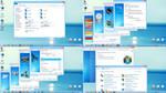 Aero Blue Iconpack Installed by Dorin