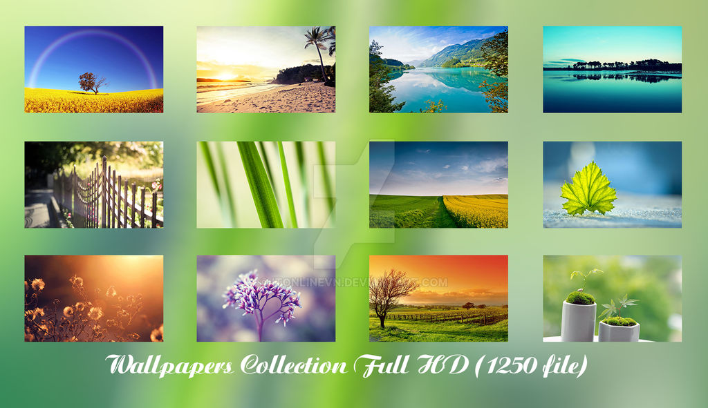 Wallpapers Collection Full HD (1250 file)