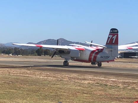 Cal Fire Plane