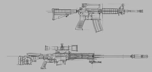 Guns by Renevatia