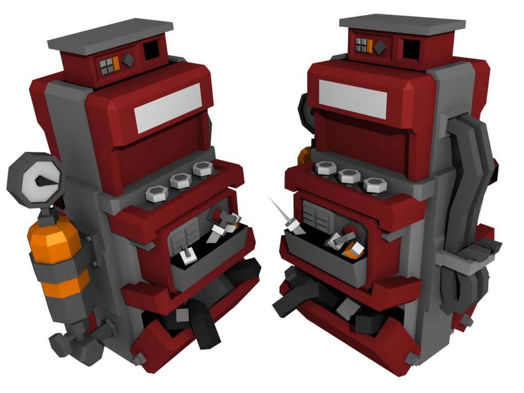 Sentry gun you can mount weapons to + TF2 Dispenser