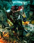 Optimus Prime Mp - 10