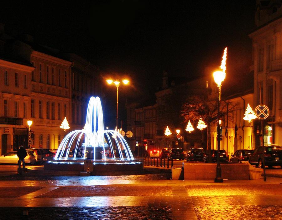 Fountain by santule