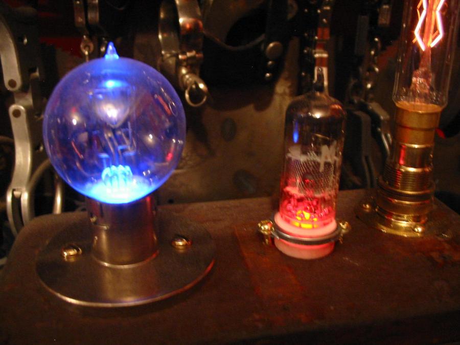Superior Steampumk Time Space Vortex Lamp By Playpenz ...