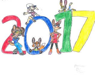 Zoo Girlz New Year
